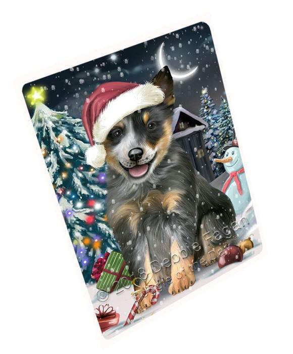 Have A Holly Jolly Blue Heeler Dog Christmas Magnet Mini (3.5″ x 2″) MAG59175